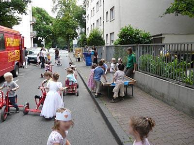 Play Street - Frankfurt, Germany